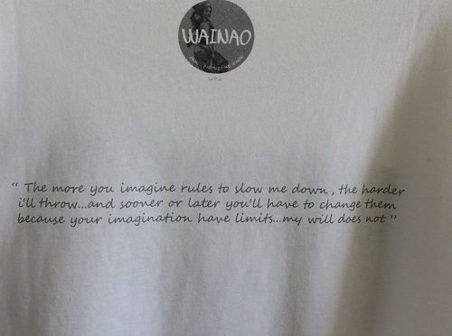 WAINAO- THE QUOTE